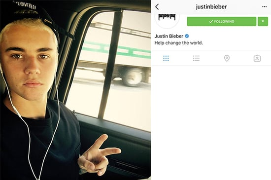 Justin Bieber Reactivated His Instagram For A Minute And People Are Confused AF