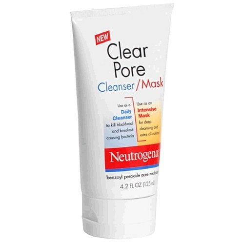 Review of Neutrogena Clear Pore Cleanser Mask