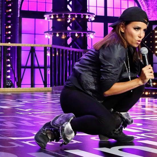 "Eva Longoria Performs ""Low"" on Lip Sync Battle February 2016"