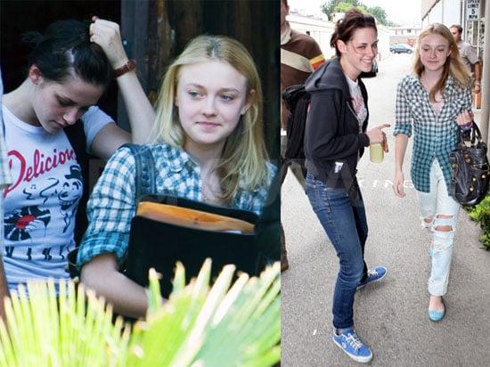 Kristen Stewart and Dakota Fanning Out in LA