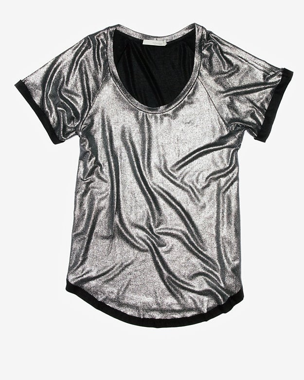 Throw this Intermix Townsen coated metallic tee ($95) over jeans for instant holiday shine.