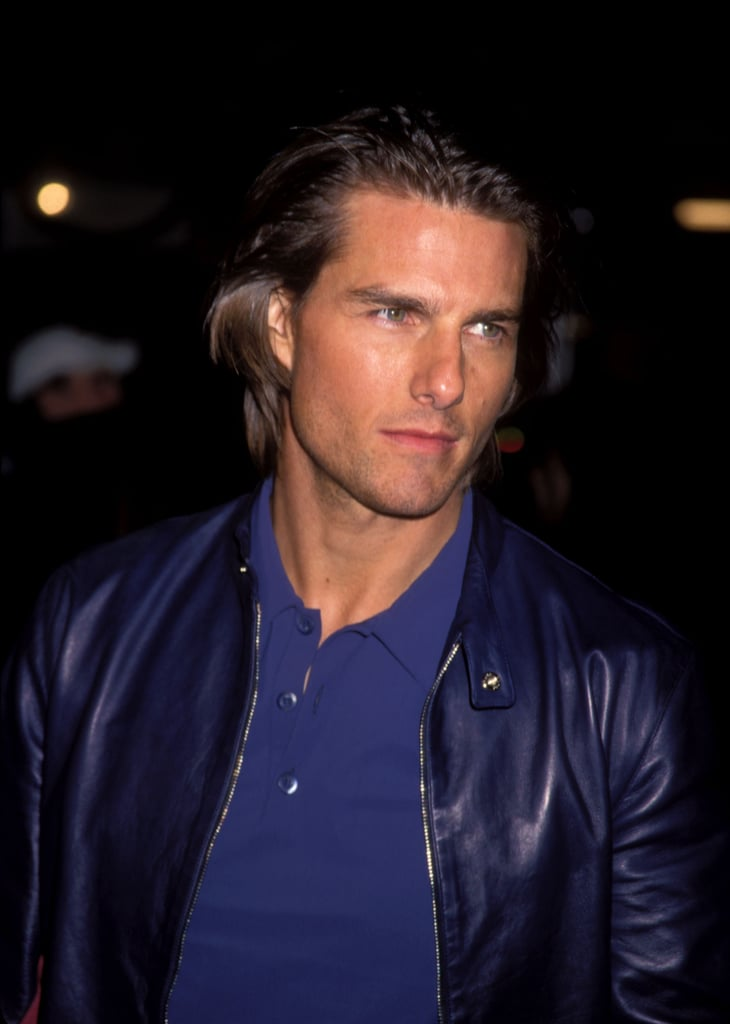 Tom Cruise gave a sexy glance at the Magnolia premiere in LA in December 1999.