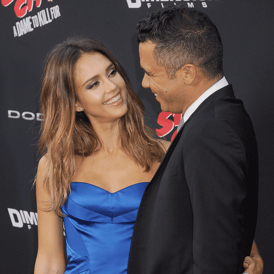 Jessica Alba and Cash Warren Couple Pictures
