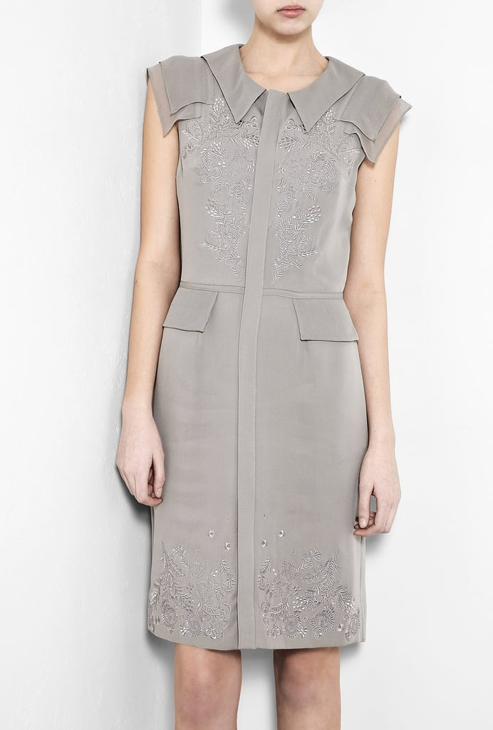 We were instantly reminded of Kate Middleton's chic, slate-gray dress style when we spotted this ultrastructured sheath. It's sharp enough for the office and sleek enough for the after-hours crowd. Catherine Deane Louisana Shirt Dress ($162, originally $543)