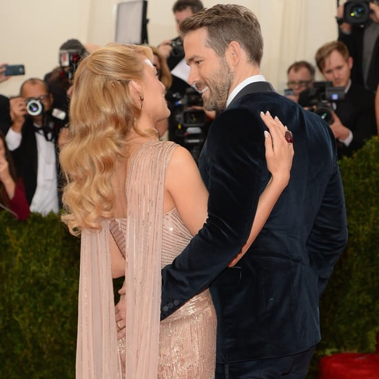 Blake Lively and Ryan Reynolds at the Met Gala 2014