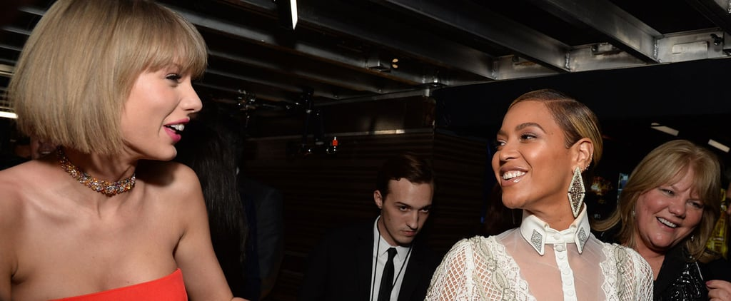 Taylor Swift Understandably Lost All Chill While Running Into Beyoncé at the Grammys