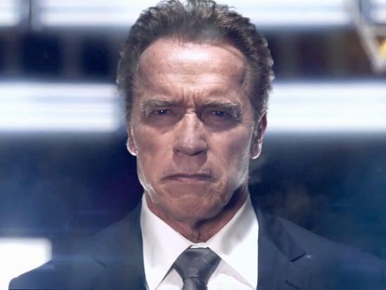 Arnold Schwarzenegger Channels The Terminator for The New Celebrity Apprentice