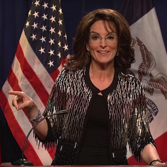 Tina Fey as Sarah Palin on SNL January 2016