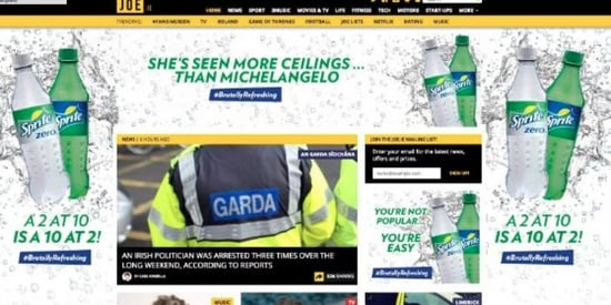 Sprite Had to Apologize For Their Weird, Sexist Advertising Campaign in Ireland