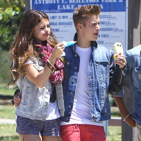 Selena Gomez and Justin Bieber Ice Cream Date Pictures