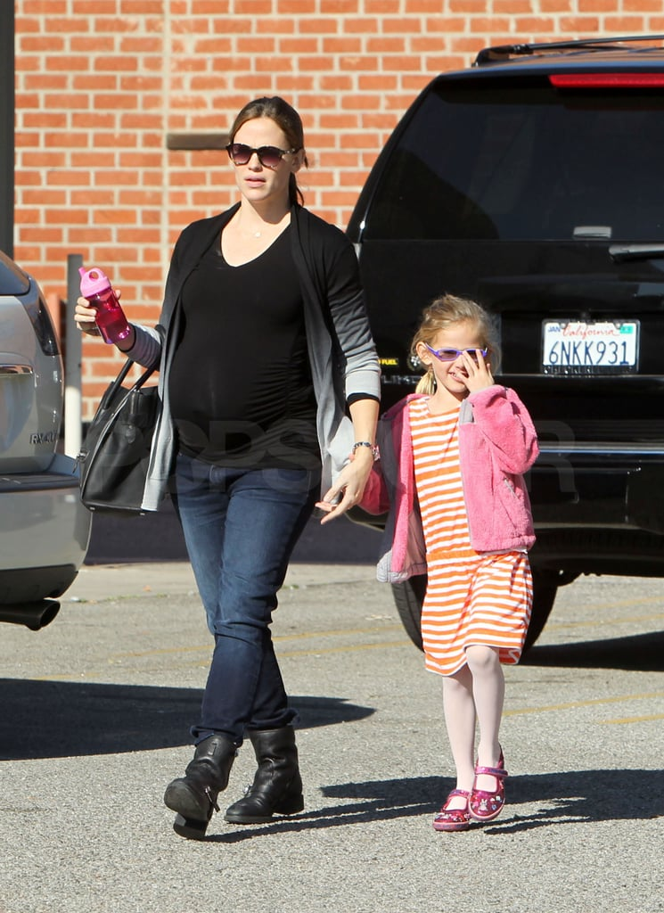 Jen took Violet to karate class on Saturday.