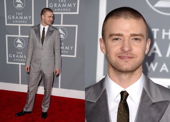 The Grammys Red Carpet: Justin Timberlake