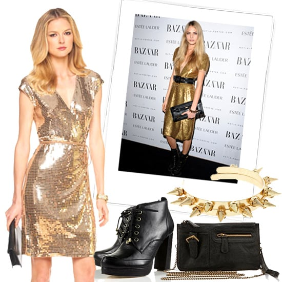 New Year's Eve Outfit Inspired by Cara Delevingne