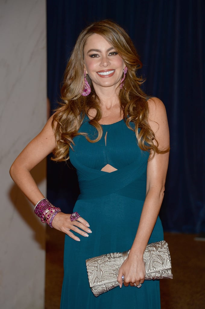 Sofía Vergara attended the White House Correspondents' Dinner 2013.