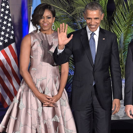 Michelle Obama's Tango Dress in Argentina