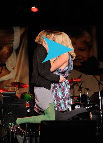 Guess Who Kissed a Woman For Charity?
