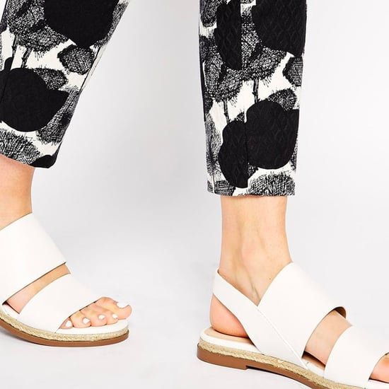 Shop the Hottest White Flat Sandals For Spring 2015