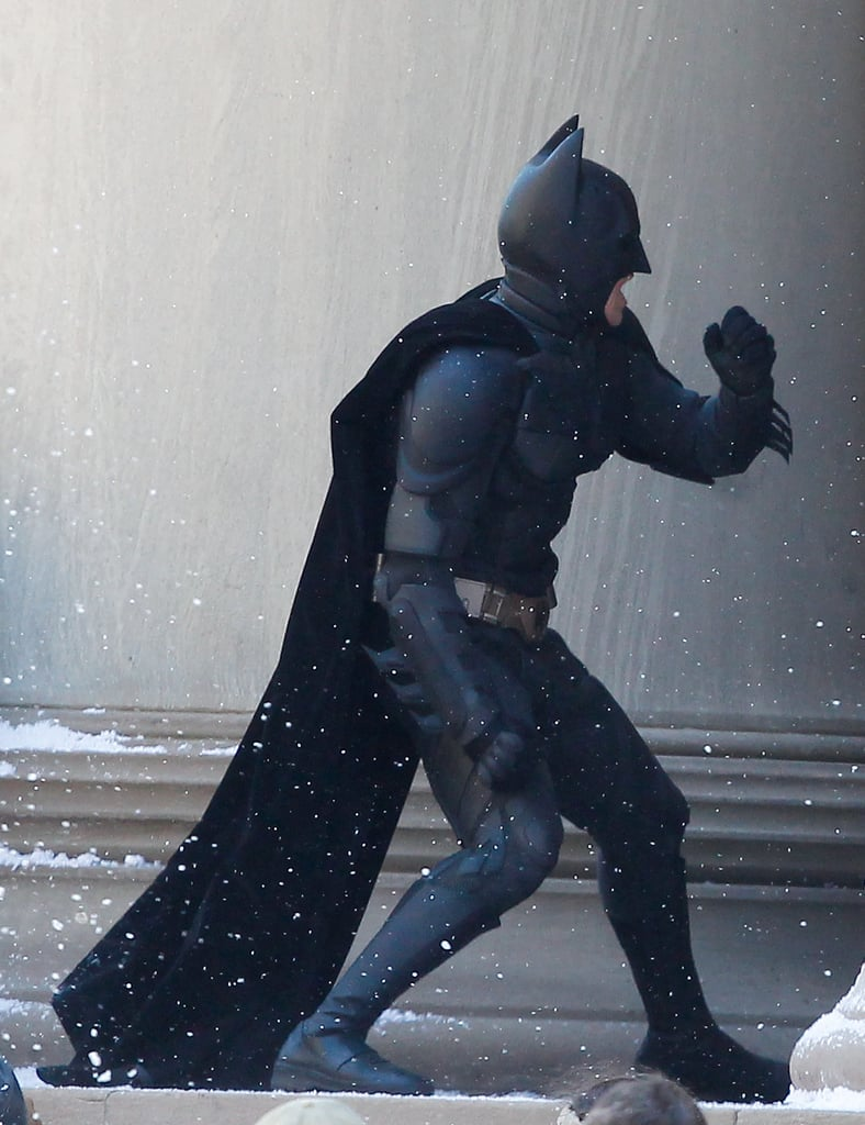 Christian Bale as Batman in The Dark Knight Rises.