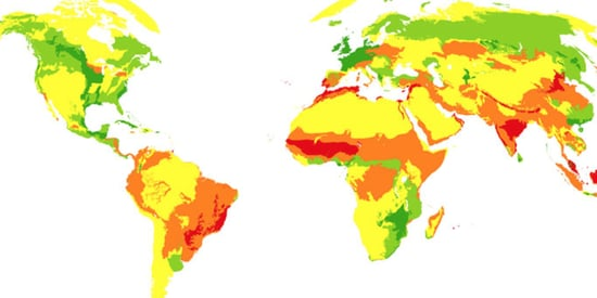 Shocking New Maps Show Mankind's Changing Global Footprint