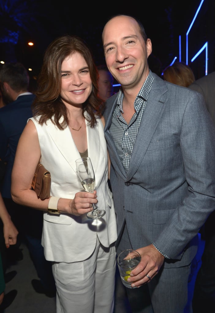 On Thursday, Tony Hale met up with Breaking Bad's Betsy Brandt.