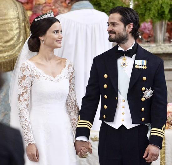 Swedish Royal Heir Carl Philip Marries Former Lingerie Model Sofia Hellqvist in Stunning Ceremony: Pics