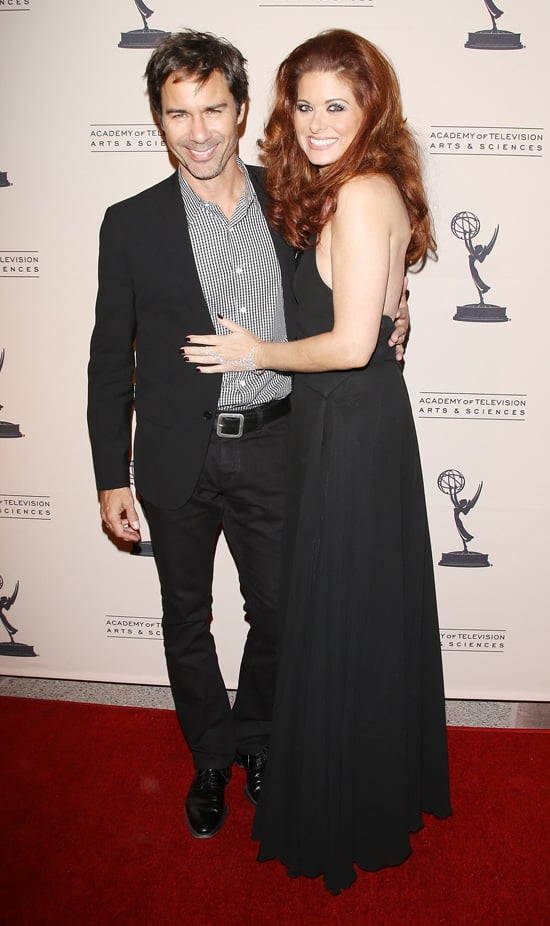 There was a mini Will & Grace reunion in Hollywood when Debra Messing and Eric McCormack met up on the red carpet during a special event.