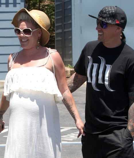 Pink Gives Birth to Baby Girl