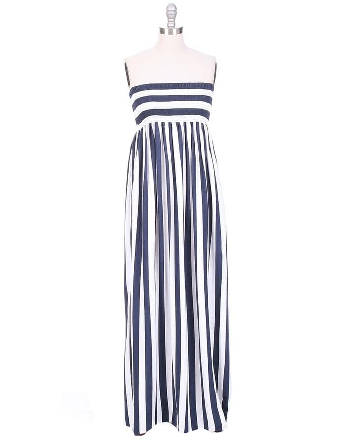 Cool Change Stripe Maxi Dress