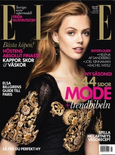 Elle Sweden September 2012