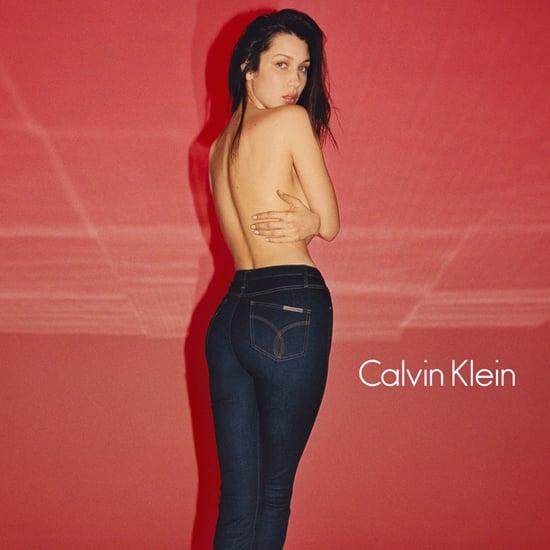 Bella Hadid Calvin Klein Fall 2016 Campaign