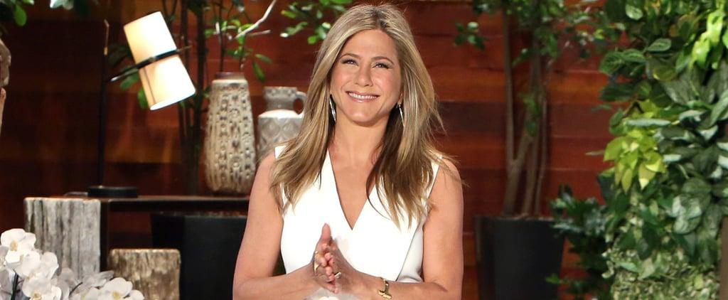 "Jennifer Aniston Jokes About the ""Silver Lining"" of Her Oscar Snub"