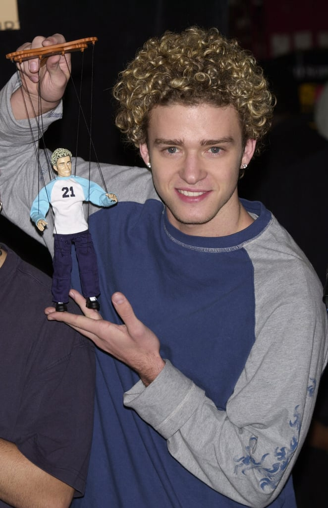 When he had his puppet moment.
