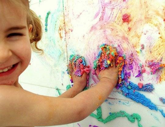 Puffy Bathtub Paint