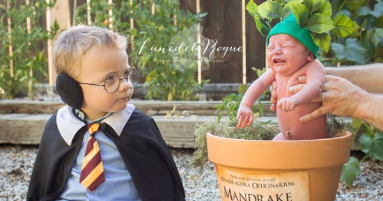 This Viral 'Harry Potter'–Themed Baby Photo Shoot Will Make Your Day