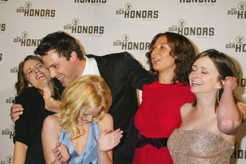 Ben Affleck Cracking Up the SNL Ladies