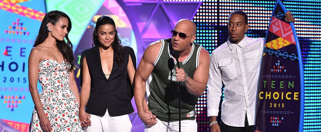 Vin Diesel Gives the Most Touching Speech About Paul Walker at the Teen Choice Awards