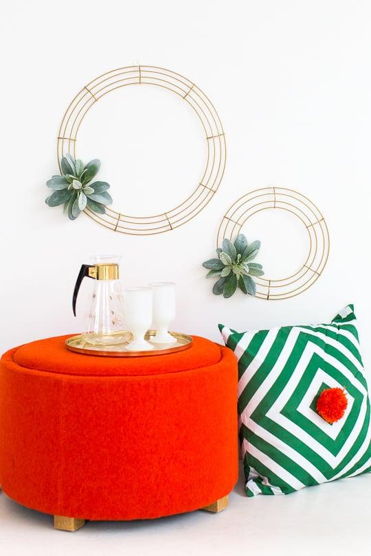 Simple DIY Geometric Wreath