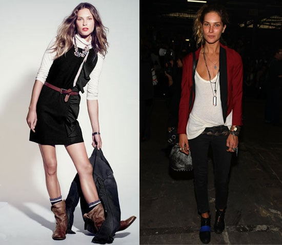 Photo of Erin Wasson Modeling For J.Crew
