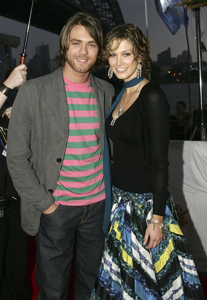 Brian and Delta arrived at the MTV Australia Video Music Awards in March 2005.