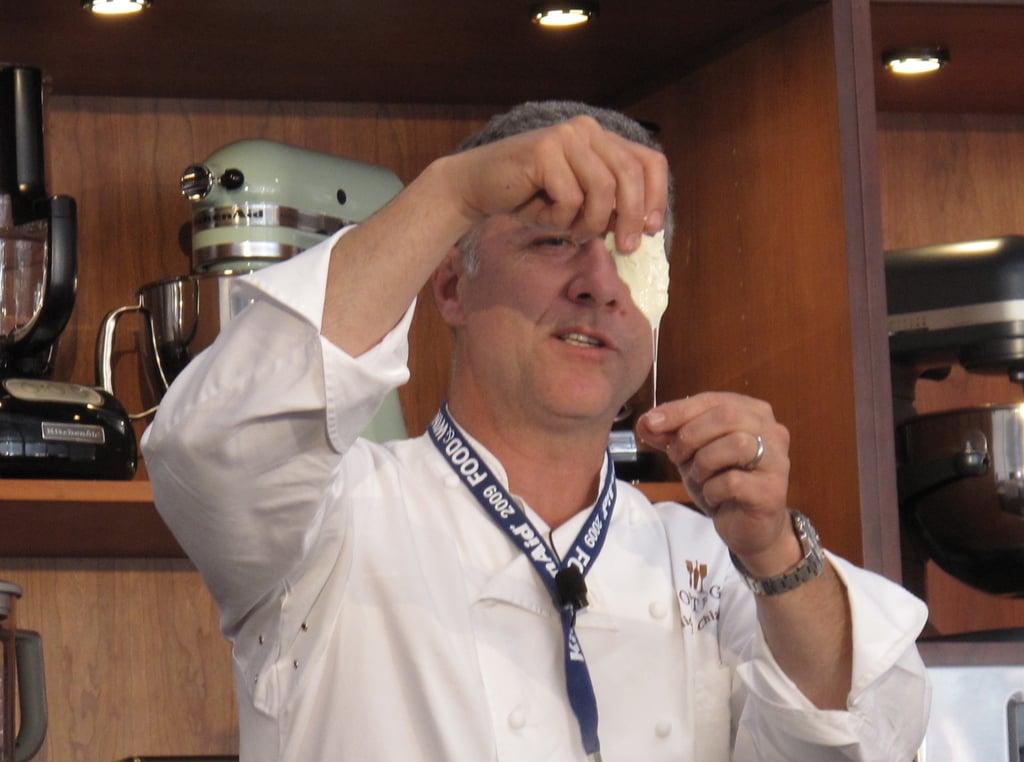 Michael Chiarello uses rennet to make mozzarella