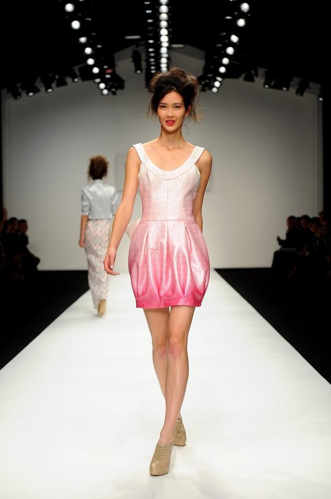 2011 Spring London Fashion Week: Paul Costelloe
