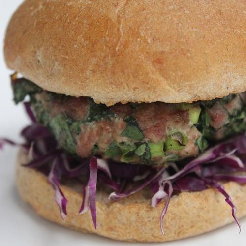 Turkey-Spinach Burgers