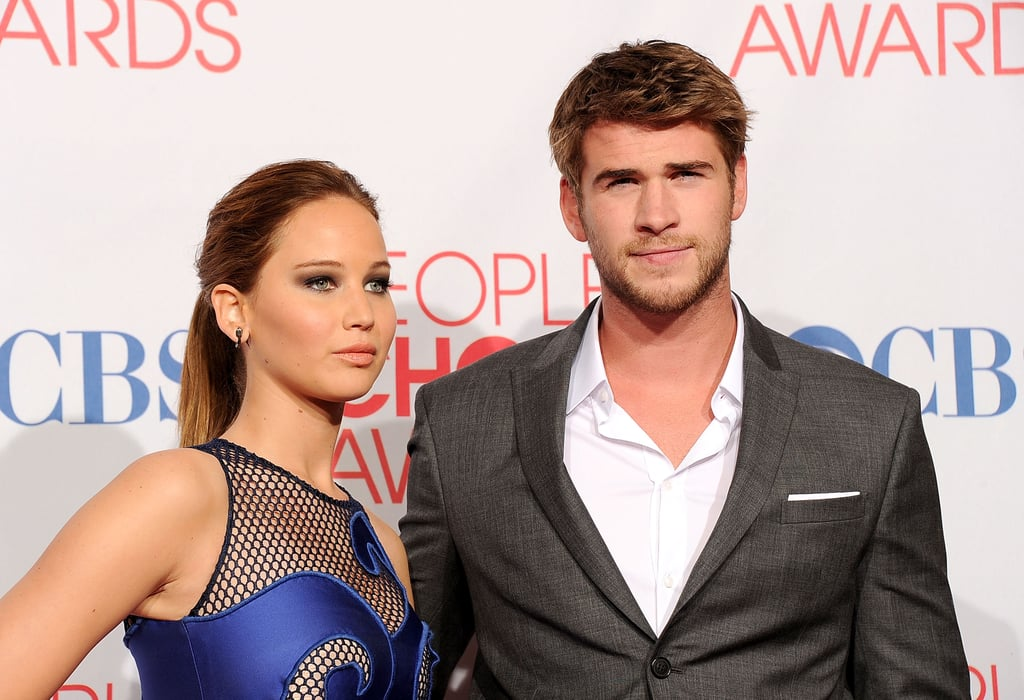 Jennifer Lawrence and Liam Hemsworth