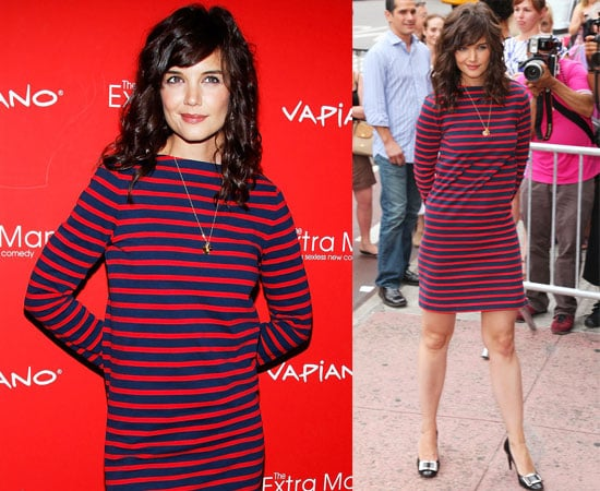 Pictures of Katie Holmes at The Extra Man Premiere in NYC