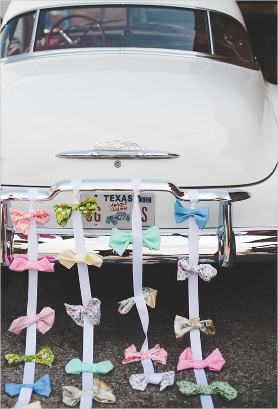 Send-Off Car Bow Ties