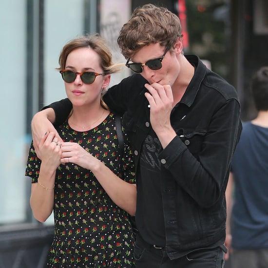 Dakota Johnson and Boyfriend Matthew Hitt in NYC