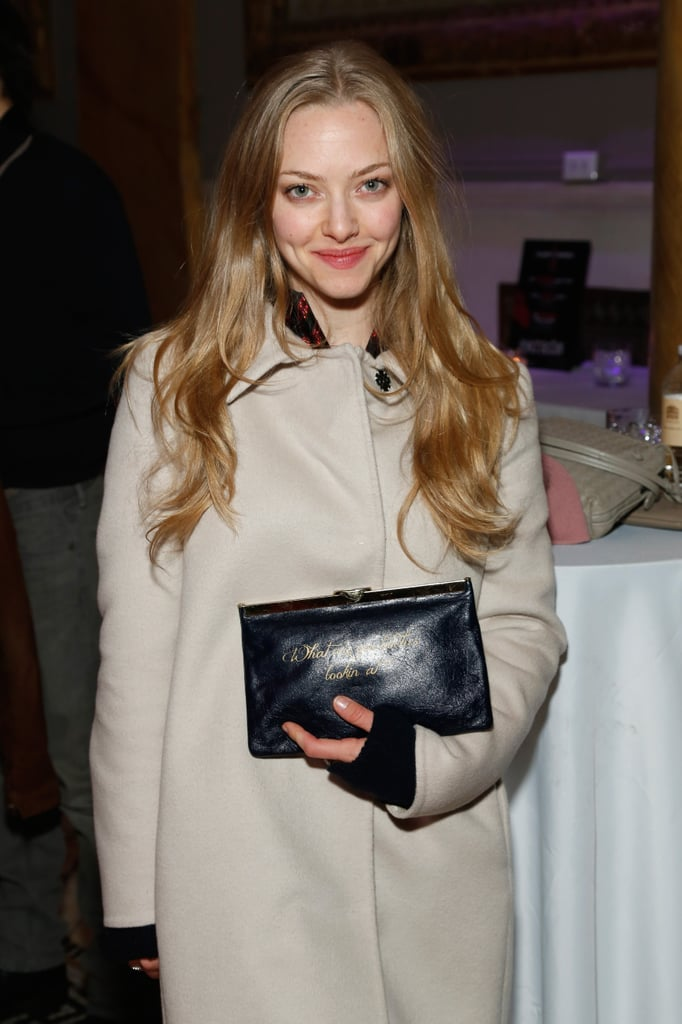 Amanda Seyfried showed up to participate in the charades.
