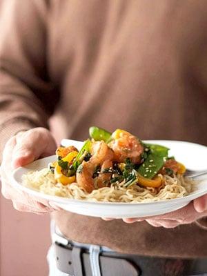 Easy Shrimp and Noodle Stir-Fry Recipe