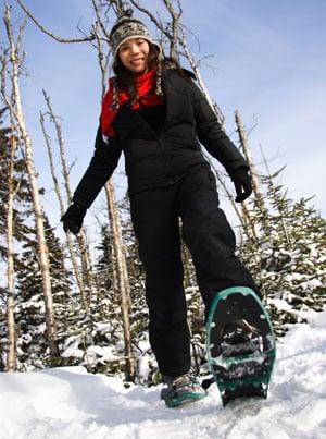 Beginner Snowshoeing Tips