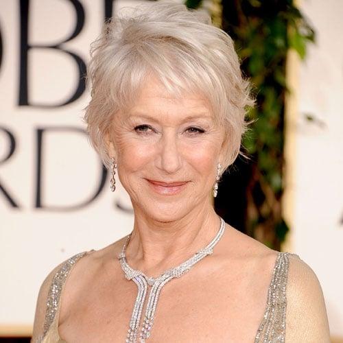 How to Get Helen Mirren's Golden Globes Hairstyle